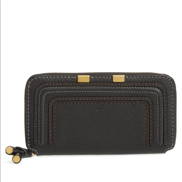 14fea6ad4441 Chloe Marcie Zip Around Wallet
